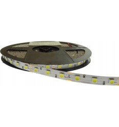 BANDA LED 60x5050 14.4W IP20 ALB CALD