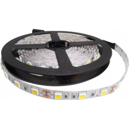 KIT BANDA LED ALB CALD 14.4W IP20 - 5 METRI