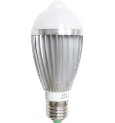 BEC LED E27 7W CU SENZOR DE MISCARE