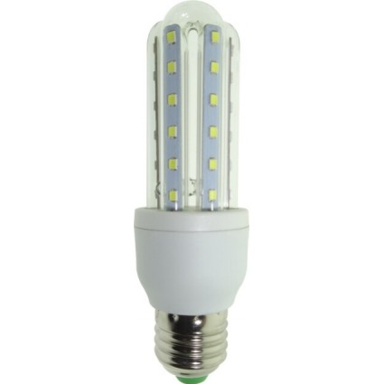 BEC LED E27 7W 3U ALB CALD