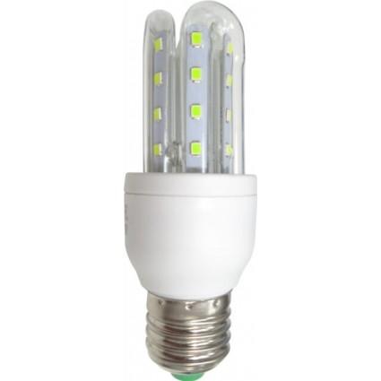 BEC LED E27 5W 3U ALB RECE / ALB CALD