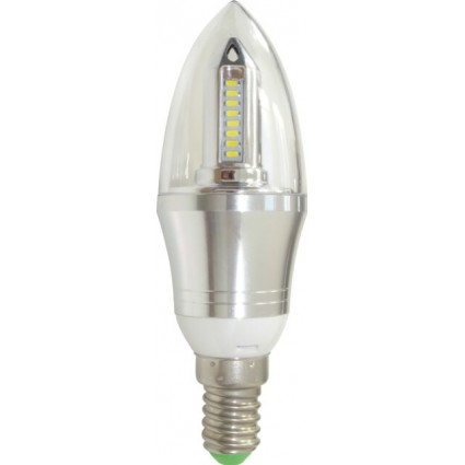 BEC LED E14 4W LUMANARE CLAR ALB RECE