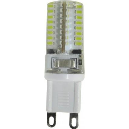 BEC LED G9 3W SILICON ALB RECE