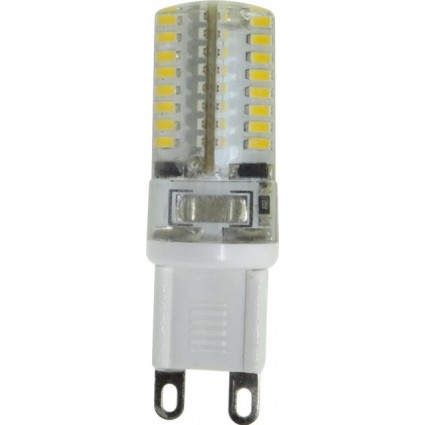 BEC LED G9 3W SILICON ALB CALD