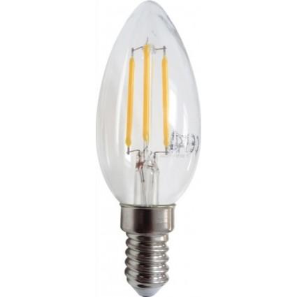 BEC LED FILAMENT E14 4W C35 ALB CALD