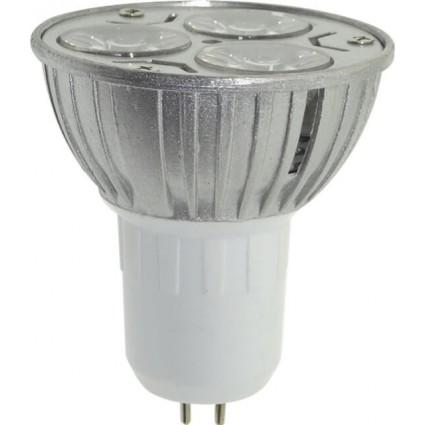 BEC LED GU5.3 MR16 3X1W ALB NATURAL 220V