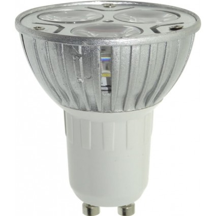 BEC LED GU10 3x1W R50 ALB NATURAL