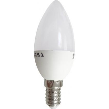 BEC LED E14 4W LUMANARE MAT ALB CALD