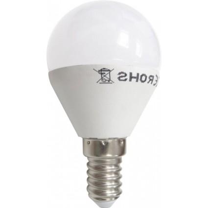 BEC LED E14 4W SFERIC G45 MAT ALB CALD