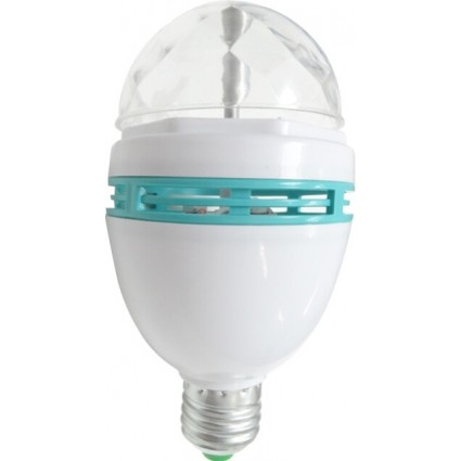 BEC LED E27 3W RGB DISCO