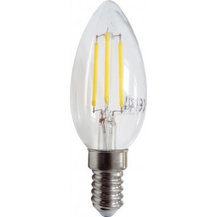 BEC LED FILAMENT E14 4W C35 ALB NATURAL