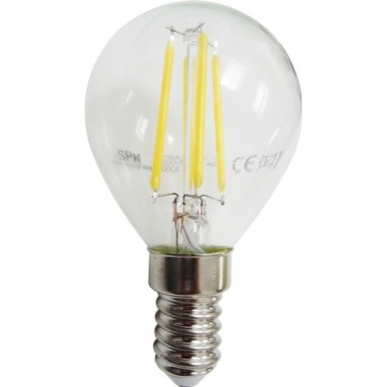 BEC LED FILAMENT E14 4W G45 ALB NATURAL