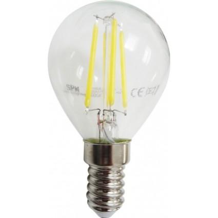 BEC LED FILAMENT E14 4W G45 ALB RECE