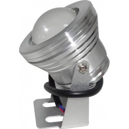 SPOT LED 10W 12V IP65 RGB CU LUPA SI TELECOMANDA