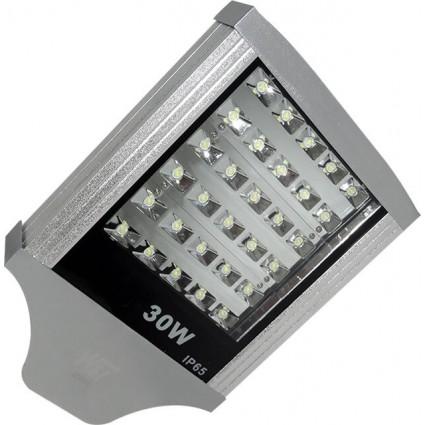 LAMPA STRADALA LED 30W ALB RECE