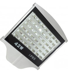 LAMPA STRADALA LED 42W ALB RECE