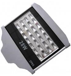 LAMPA STRADALA LED 28W ALB RECE