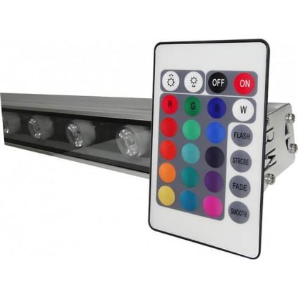 PROIECTOR LED 18W ARHITECTURAL RGB CU TELECOMANDA