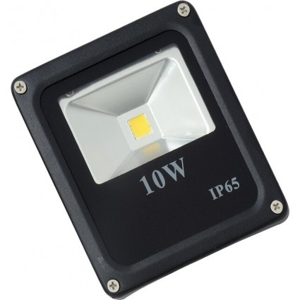 PROIECTOR LED 10W SLIM ALB CALD IP65