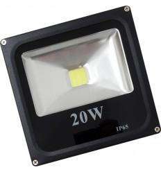 PROIECTOR LED 20W SLIM ALB RECE IP65