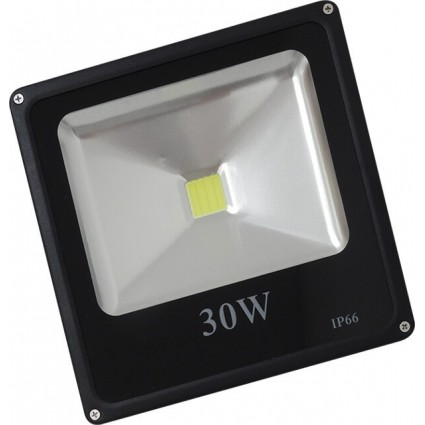 PROIECTOR LED 30W SLIM ALB RECE IP65