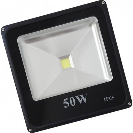 PROIECTOR LED 50W SLIM ALB CALD IP65