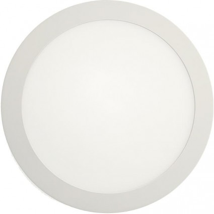 APLICA LED 18W ROTUNDA ALB RECE