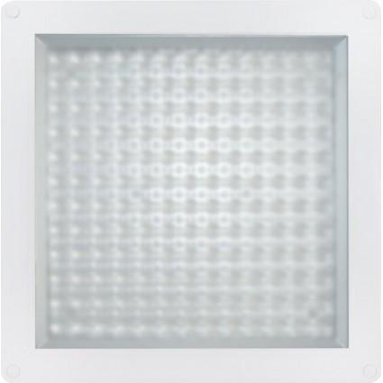 APLICA LED 12W PATRATA MULTILED PLASTIC MAT
