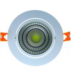 SPOT COB LED 12W ROTUND REGLABIL