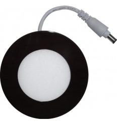 SPOT LED 3W ROTUND SLIM MAT RAMA WENGE