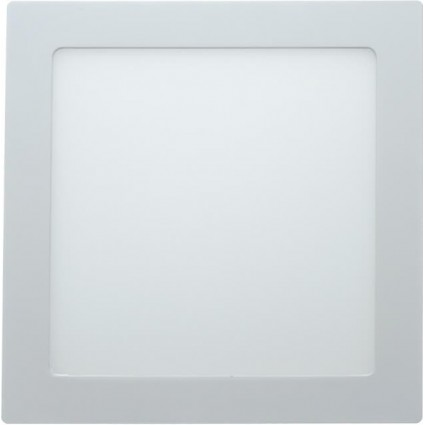 SPOT LED 24W PATRAT SLIM MAT ALB CALD