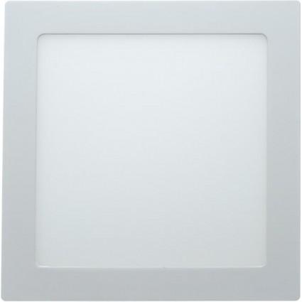 SPOT LED 24W PATRAT SLIM MAT ALB RECE