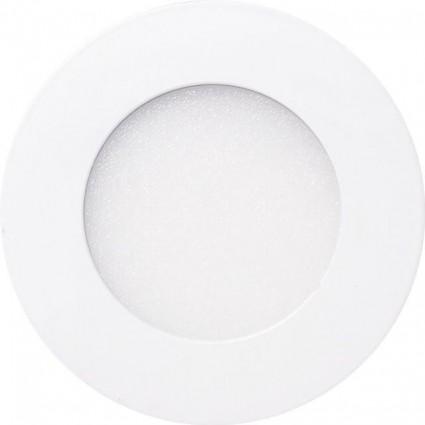 SPOT LED 6W ROTUND SLIM MAT ALB CALD