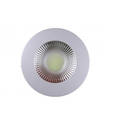 SPOT LED 10W ROTUND TRANSPARENT ALB RECE