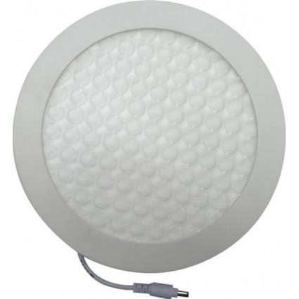 SPOT LED 18W ROTUND 3D ALB RECE