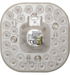KIT APLICA LED 12W CU LUPA (VEGA)