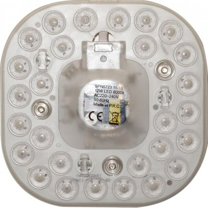 KIT APLICA LED 12W CU LUPA (VEGA)