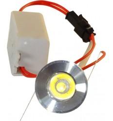 SPOT LED 1W ROTUND MINI
