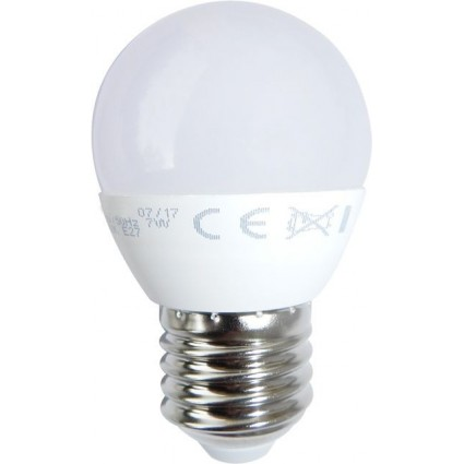 BEC LED E27 7W SFERIC G45