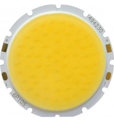 CHIP LED 30W COB ALB CALD ROTUND