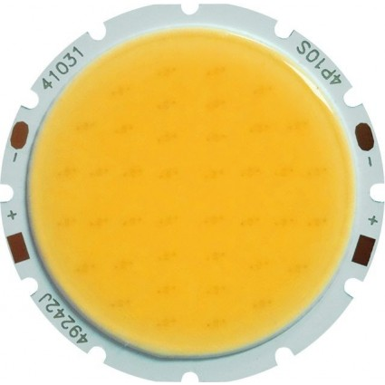 CHIP LED 20W COB ALB CALD ROTUND