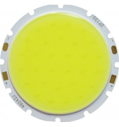 CHIP LED 15W COB ALB RECE ROTUND