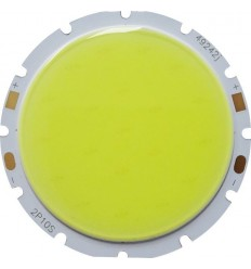 CHIP LED 10W COB ALB RECE ROTUND