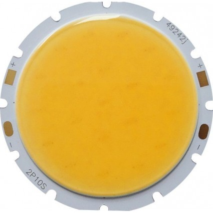 CHIP LED 10W COB ALB CALD ROTUND