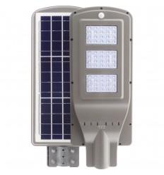 LAMPA STRADALA LED 60W CU PANOU SOLAR SI SENZOR