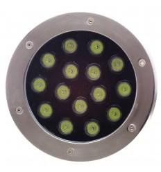 SPOT LED PAVAJ 15X1W IP65 ALB RECE