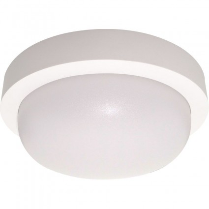 APLICA LED BAT 12W ROTUNDA IP65 ALB RECE SPN75913