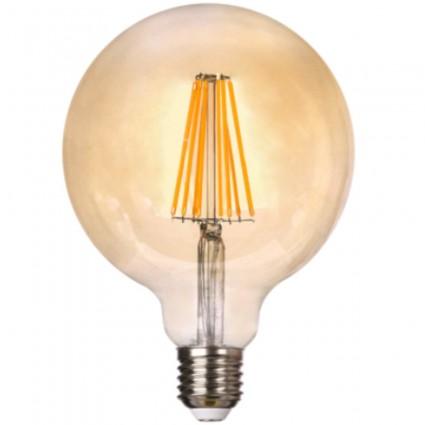 BEC LED VINTAGE E27 8W GLOB G125 DECORATIV EDISON
