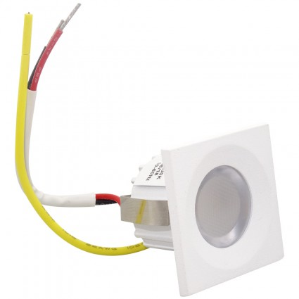 SPOT LED 3W PATRA 35X35MM 220V