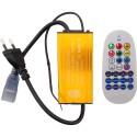 CONTROLLER BANDA LED RGB 220V 1500W IP54 CU TELECOMANDA RF